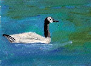 Detail Image for art Waterfowl on the Dechutes River