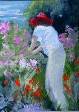 Art: Tending the Garden by Artist Deborah Sprague