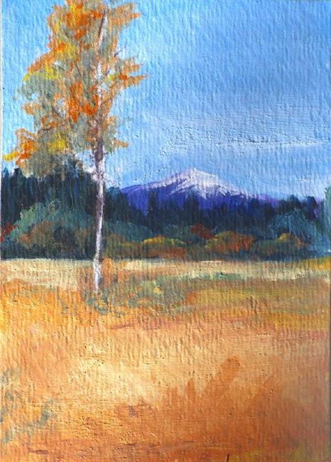 Art: Fall Sisters Oregon by Artist Deborah Sprague
