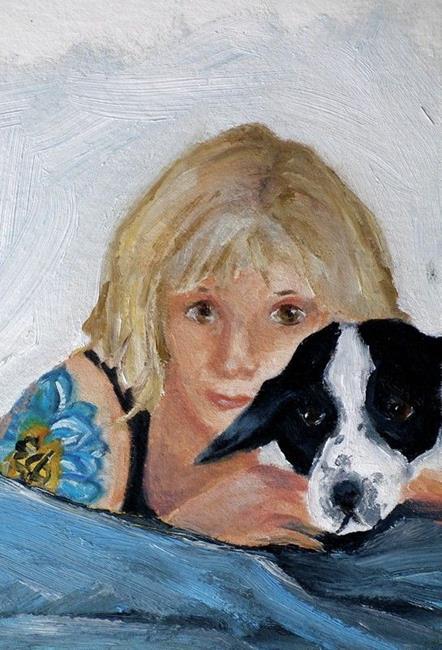 Art: Tracey and Mardi by Artist Deborah Sprague