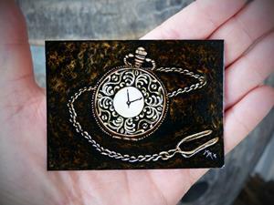 Detail Image for art Vintage Pocket Watch  (SOLD)