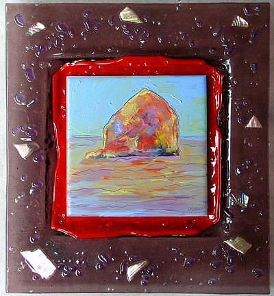 Art: Pacific City In my Dreams by Artist Deborah Sprague