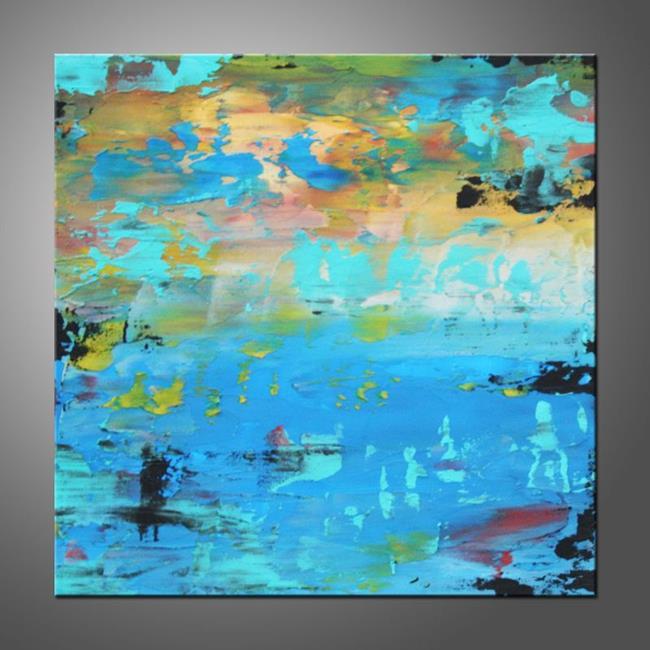 Art: Aqua by Artist Hilary Winfield