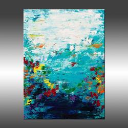 Art: Color Garden 3 by Artist Hilary Winfield