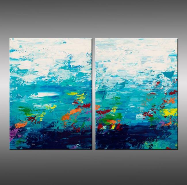 Art: Color Garden 4 by Artist Hilary Winfield