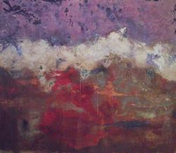 Art: Rain Painting by Artist Virginia Ann Zuelsdorf
