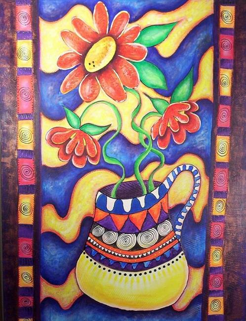 Art: Big Dancing 1 by Artist Christine Wasankari