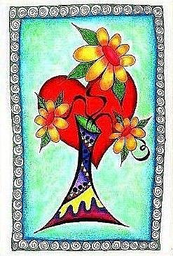 Art: Dancing 6 by Artist Christine Wasankari