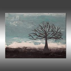 Art: Abstract Tree 2 by Artist Hilary Winfield