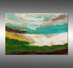 Art: Coastal Viewpoint 2 by Artist Hilary Winfield