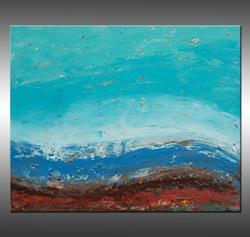 Art: Shoreline 2 by Artist Hilary Winfield