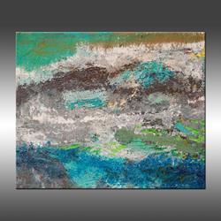 Art: Island From the Sky by Artist Hilary Winfield