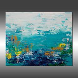 Art: Blue Lake by Artist Hilary Winfield