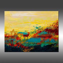 Art: Desert Oasis by Artist Hilary Winfield