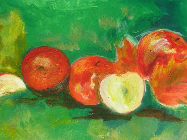 Art: Autumn Apples by Artist Eridanus Sellen