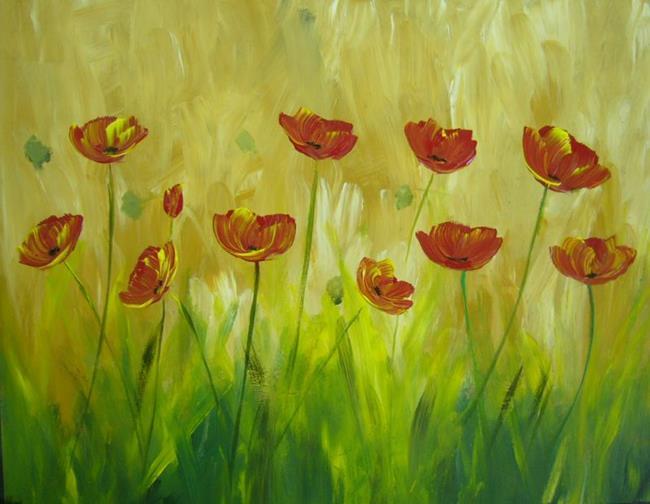 Art: Poppies for mom by Artist Eridanus Sellen