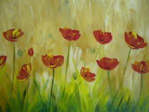 Detail Image for art Poppies for mom