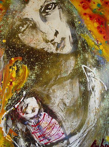 Art: Mothering Chaos by Artist Kelli Ann Dubay