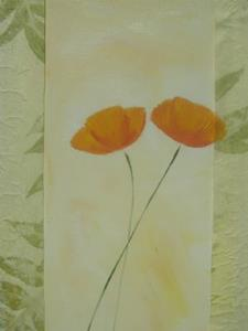 Detail Image for art Poppy triptych