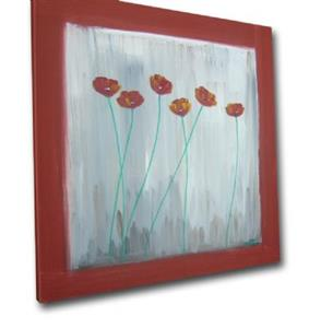 Detail Image for art Poppies in a Square