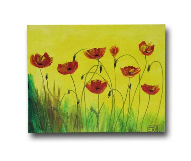 Art: Poppies for All by Artist Eridanus Sellen