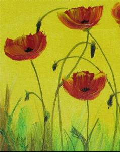 Detail Image for art Poppies for All