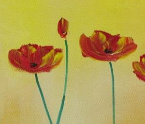 Detail Image for art Soft Tone Poppies