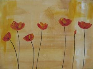 Detail Image for art These Poppies are making me Hungry