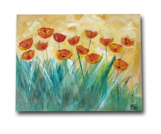Art: Poppies in the Sun by Artist Eridanus Sellen