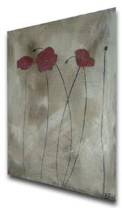 Detail Image for art Shaded Poppies