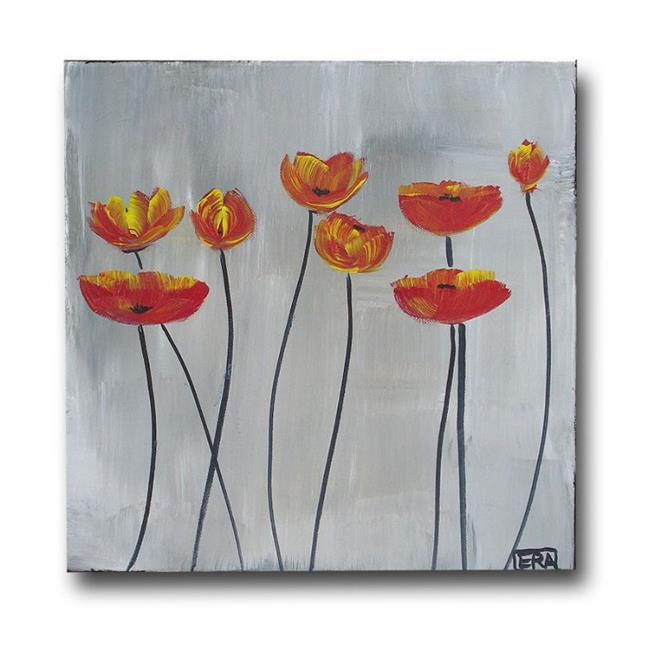 Art: Fun with Poppies by Artist Eridanus Sellen