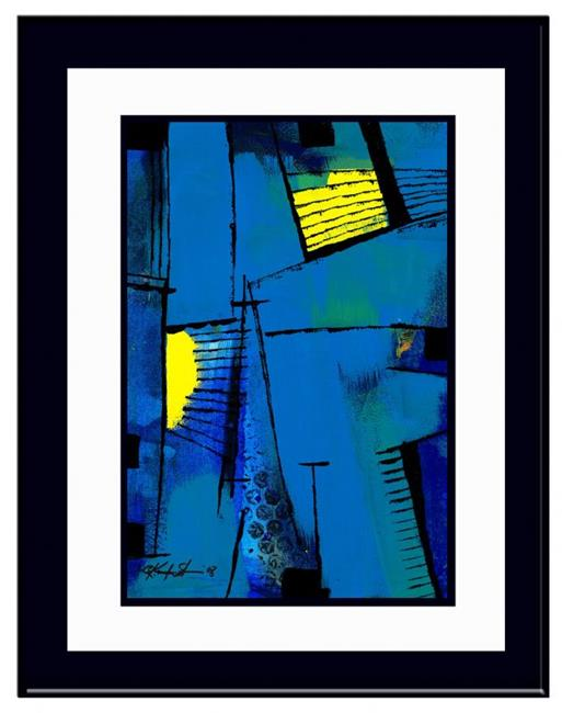 Art: Abstract Passage #5 by Artist Kathy Morton Stanion