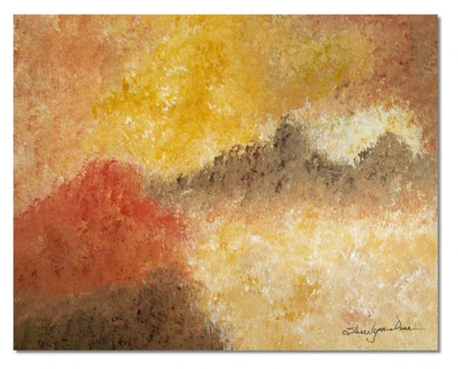 Art: Hidden Prairie - sold by Artist Shari Lynn Schmidt