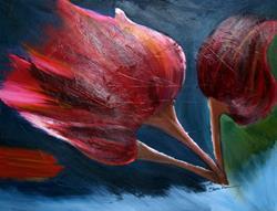 Art: New Beginnings - sold by Artist Shari Lynn Schmidt