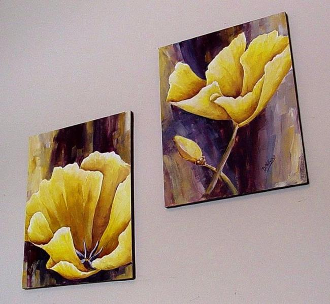 Art: Yellow Poppies by Artist Diane Millsap