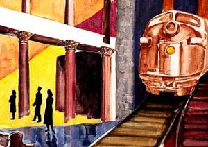 Detail Image for art Last Train