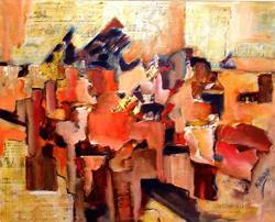 Art: OVERLOAD!  - SOLD by Artist Diane Millsap