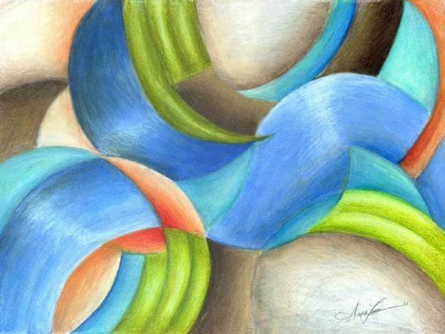 Art: Contemplation by Artist Alma Lee