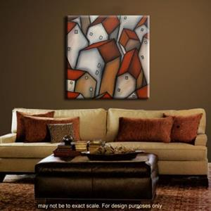 Detail Image for art abstract 387 3030 Original Abstract Art Census