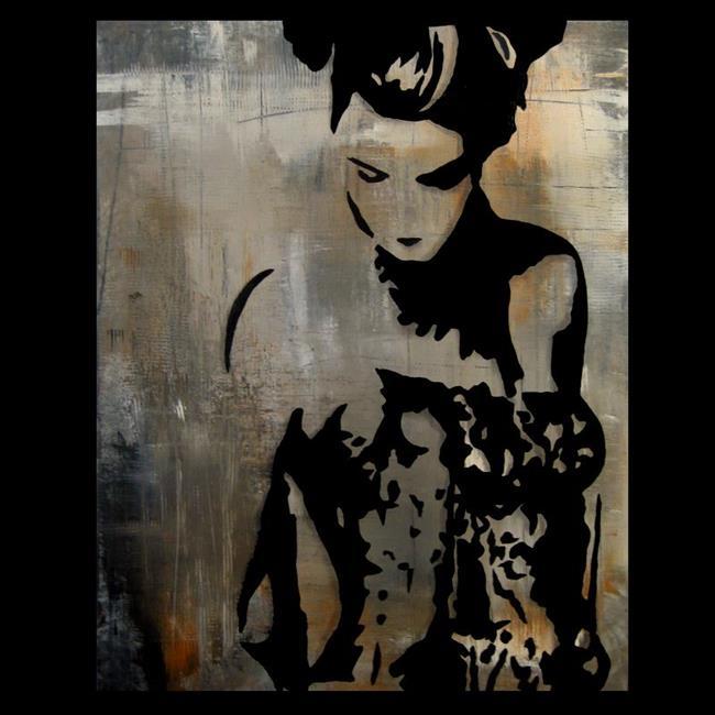 Art: abstract 453 2430 GW Original Abstract Art Bailar Conmigo by Artist Thomas C. Fedro