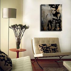 Detail Image for art abstract 453 2430 GW Original Abstract Art Bailar Conmigo