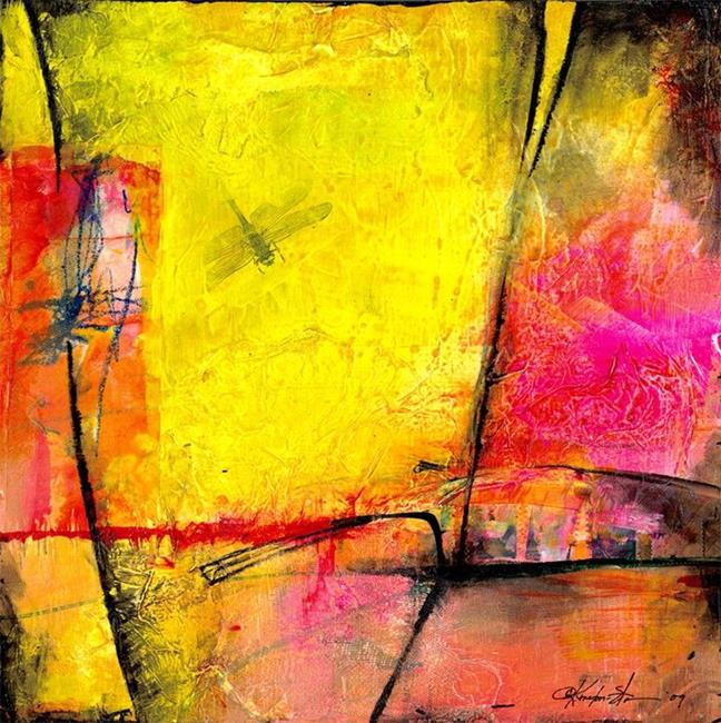 Art: Abstraction W02 by Artist Kathy Morton Stanion