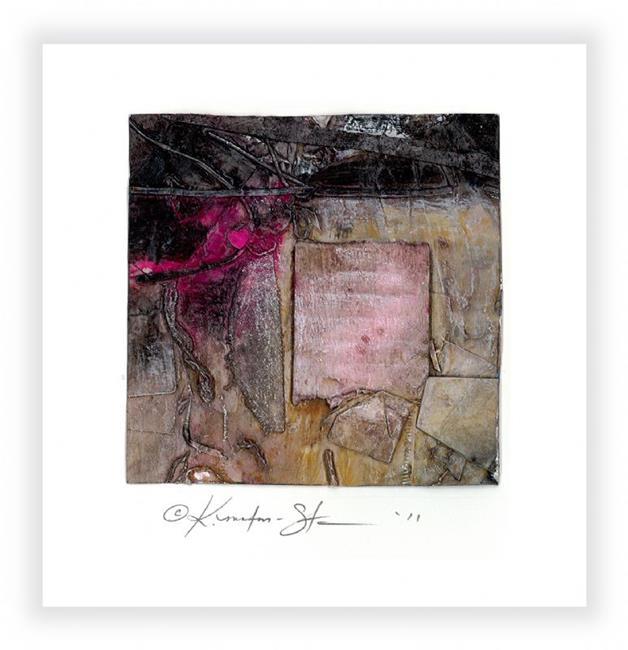Art: Little Pink Heart by Artist Kathy Morton Stanion