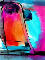 Art: Watercolor Abstraction 3 by Artist Kathy Morton Stanion