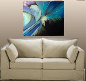 Detail Image for art BLUE ANGEL