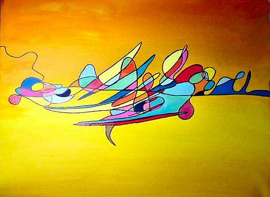 Art: Myriad by Artist Dia Spriggs
