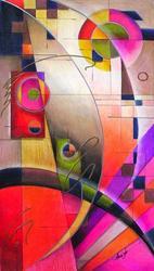 Art: Kandinsky Cadence by Artist Alma Lee