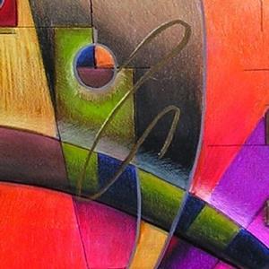 Detail Image for art Kandinsky Cadence