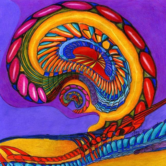 Art: A Kindred Spirit by Artist Alma Lee
