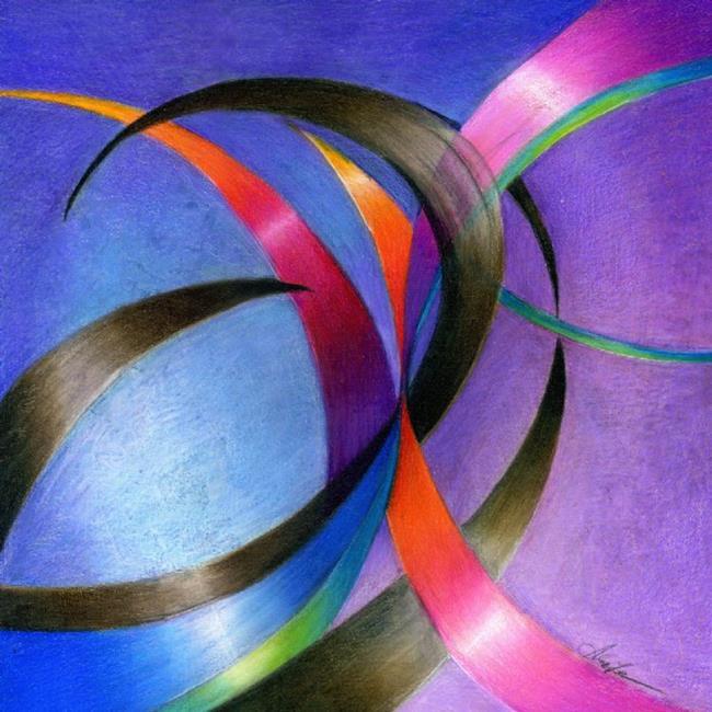 Art: Fractal in Analog by Artist Alma Lee